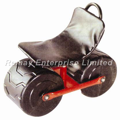 Rolling Garden Work Seat Cart TC1405K Garden Cart Grass Cart on