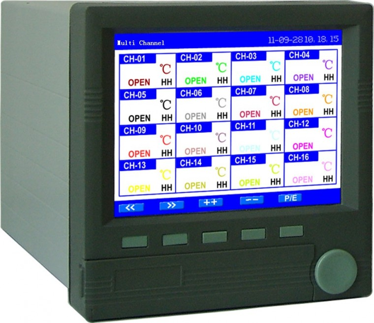 4 20ma Digital Chart Recorder : Temperature chart recorder digital at channel