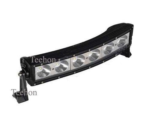 60w 12 inch single row curved led off road light bar th bcs2060 60w 12 inch single row curved led off road light bar th bcs2060 aloadofball Gallery