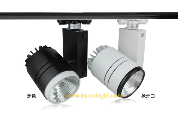 Ceiling track lights led track light rail rail declairage ceiling track lights led track light rail rail declairage iluminacion riel dimmable led spotlight track lighting lighting led clothing aloadofball Choice Image