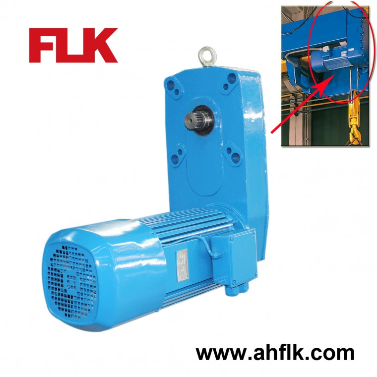 Wire Rope Hoist Lifting Gearmotor / Gearbox / Reducer QZ Series ...