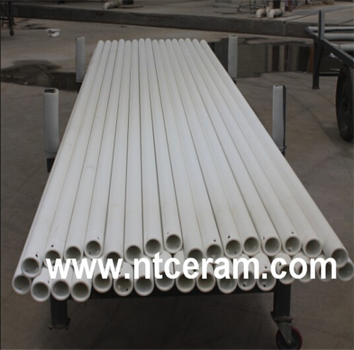 High Temperature Alumina Ceramic Roller For Ceramic Tiles Factory NT ...