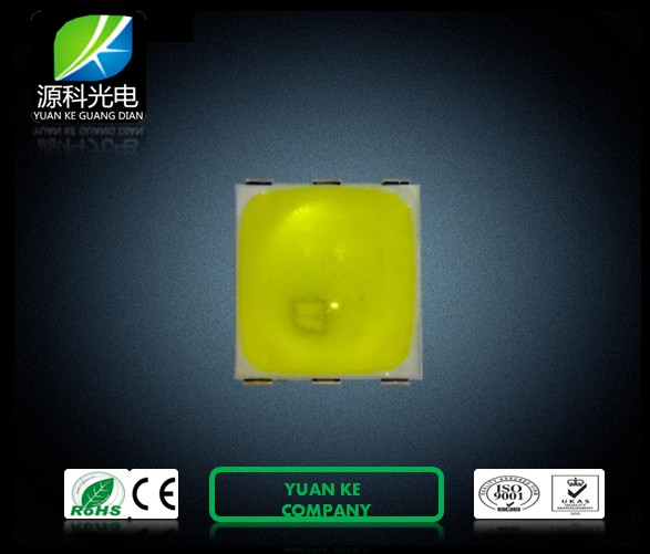 Special 2 Chip Series Connection 1W SMD 5050 LED Ultraviolet Lamp (YK 5050  UV)
