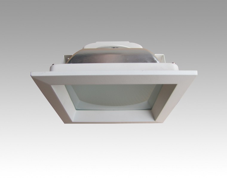 6 square led downlight reflector 6 inches ceiling recessed light