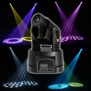 15W Mini Moving Head Light Gobo,Party Light