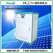 20KW Phase converter single phase power to 3 phase power converter