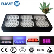 LED Grow Lights 900W 300*3W Dual Veg/Flower Spectrum For Hydroponics Medical Plant
