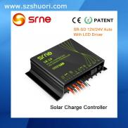 12V/24V Waterproof PWM Dimming  Solar Charger  Cir Manufacturer