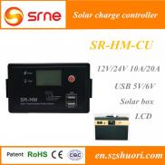 SRNE 10A/20A 12V/24V Automatic Voltage  Solar  Con Manufacturer