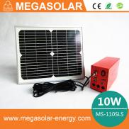 10w  Solar Powered Generator \ solar Power  For Ho Manufacturer