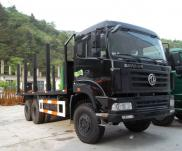 Dongfeng 6x6 Off-road Wood Transportation Truck Manufacturer