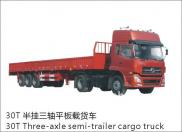 Dongfeng EQ9390BT 30T Three-axle Semi-trailer Carg Manufacturer