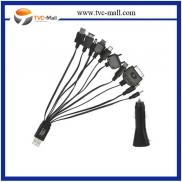 Universal 10 In 1 USB Charger Cable And Car Charge Manufacturer