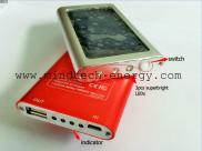 Solar Torch  Mobile Charger Controller 2000mAh Li Manufacturer