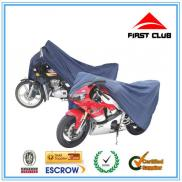 Waterproof Motorcycle Body Cover Silver Manufacturer