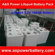 3.2V 160Ah LiFePO4  Battery  For Solar  Power  Sys Manufacturer