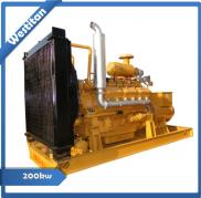 200kw(150kw)biomass Gas Power Generator Set/Gas Tu Manufacturer