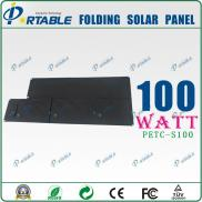 100W 120W  Portable , Flexible And Foldable  Solar Manufacturer