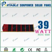 Light Weight  Solar  Charger  Monocrystalline  Sil Manufacturer