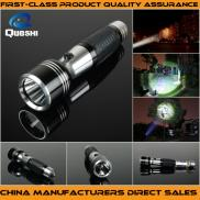 High Intensity Tactical  Led  Flashlights Queshi N Manufacturer