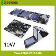 10w Portable  Mobile Solar Charger  Manufacturer