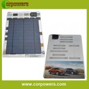 A5 Paper Size Promotional Gift  Solar Mobile  Phon Manufacturer