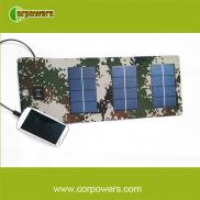 Camouflage 5w Foldable  Solar Charger  For  Mobile Manufacturer