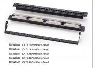 Cat5e 12/18/24/48/96 Port  Patch Panel  Manufacturer