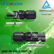 Waterproof Power Solar  PV  MC4  Connector  With T Manufacturer
