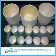 High Purity Alumina Ceramic Crucible 99% For Gold  Manufacturer