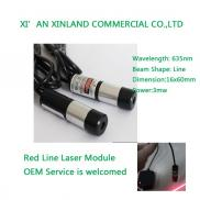 635nm 3mw Output  Power  Red Line Laser  Module  1 Manufacturer