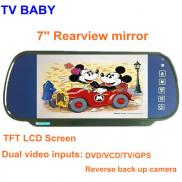 7 Inch  Rear View  Mirror Car  Monitor  TFT LCD (2 Manufacturer