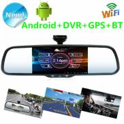 Newest 2014 Car Android  Rear View  Mirror Car  Mo Manufacturer
