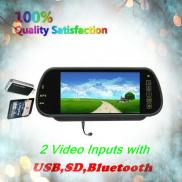 Rear View  Mirror Car  Monitor  With MP5,Bluetoot Manufacturer