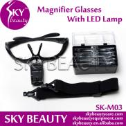 Supporting Glasses Magnifier LED Lamp Manufacturer