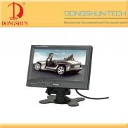 DS-7019 7 Inch  Car  Stand Alone  Monitor  With Tf Manufacturer