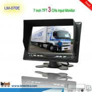 High Quality 7 Inch TFT  LCD Car  Rearview Reverse Manufacturer