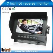 New Design 7 Inch Digital  Car  Tft  Lcd Monitor  Manufacturer