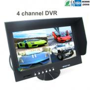 2013 New  LCD Monitor  9 Inch 4 CH DVR Recording S Manufacturer
