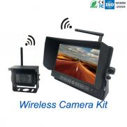 7 Inch Car  Monitor  With 4 Cameras System Recordi Manufacturer