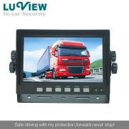 7 Inch Tft  Lcd Car  Rearview Reverse  Monitor  Manufacturer
