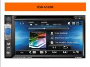 Oem Double Din  Car Dvd Player  With Reversing Cam Manufacturer