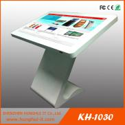 55 Inch Floor Stand  LCD  Display Kiosk/Supermarke Manufacturer