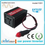 200W 12v To 220v Portable Car Power  Inverter ,Car Manufacturer