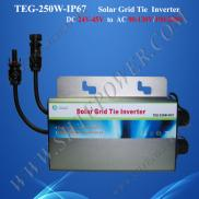 250W Single Phase China Outdoor Waterproof  Micro  Manufacturer
