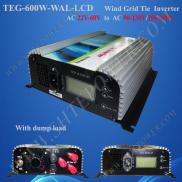 600W Grid Tie  Wind Turbine  Generator Inverer 3Ph Manufacturer