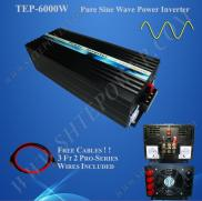 6kw Power  Inverter / converter  Pure Sine Wave Manufacturer