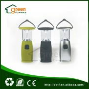 Solar Power/hand Crank Dynamo 6 LED  Camping Light Manufacturer