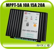 12V 24V 5A 10A 15A 20A  Mppt Solar Charge Controll Manufacturer
