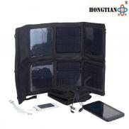 15w To 20w Foldable  Solar Power  Bank  Charger  Manufacturer